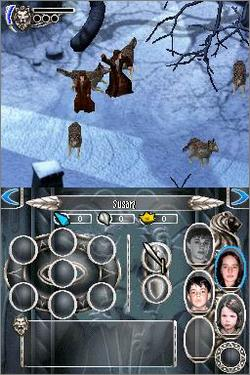 Pantallazo de Chronicles of Narnia: The Lion, the Witch, and the Wardrobe, The para Nintendo DS