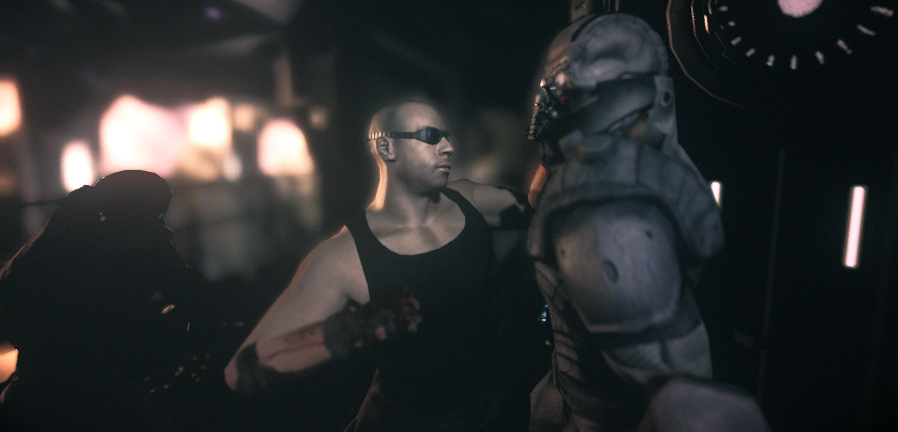 Pantallazo de Chronicles of Riddick: Assault on Dark Athena, The para Xbox 360
