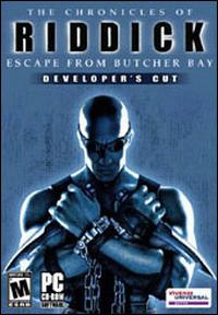 Caratula de Chronicles of Riddick: Escape From Butcher Bay -- Developer's Cut, The para PC
