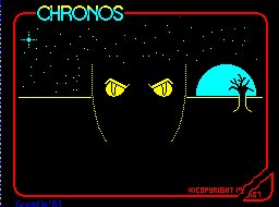 Pantallazo de Chronos: A Tapestry of Time para Spectrum