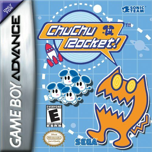 Caratula de ChuChu Rocket! para Game Boy Advance