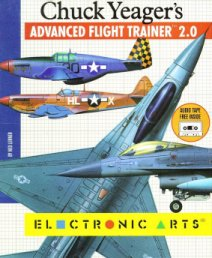 Caratula de Chuck Yeager's Advanced Flight Trainer 2.0 para Amiga
