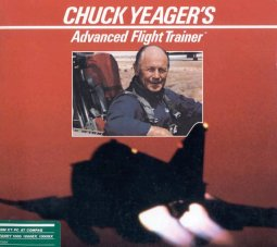 Caratula de Chuck Yeager's Advanced Flight Trainer para PC