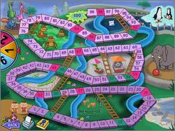 Pantallazo de Chutes and Ladders para PC