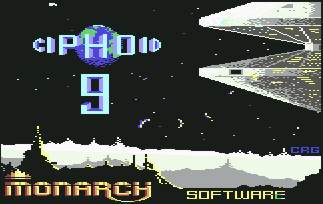 Pantallazo de Ciphoid 9 para Commodore 64