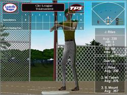 Pantallazo de City League Softball para PC