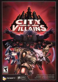 Caratula de City of Villains para PC