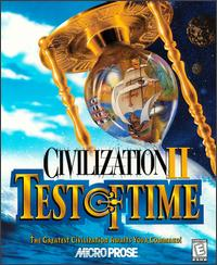 Caratula de Civilization II: Test of Time para PC