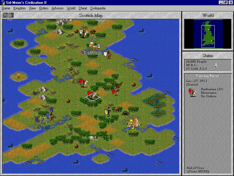 Pantallazo de Civilization II [Jewel Case] para PC