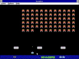 Pantallazo de Classic Arcade Games for Windows para PC