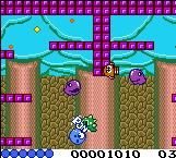 Pantallazo de Classic Bubble Bobble para Game Boy Color