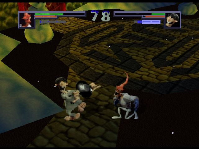 Pantallazo de Clay Fighter: Sculptor's Cut para Nintendo 64