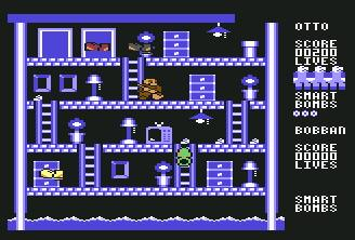 Pantallazo de Clean Up Time para Commodore 64