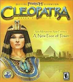 Caratula de Cleopatra: Queen of the Nile -- Official Pharaoh Expansion para PC