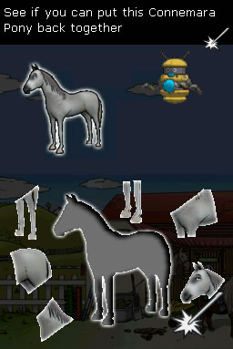 Pantallazo de Clever Kids: Pony World para Nintendo DS
