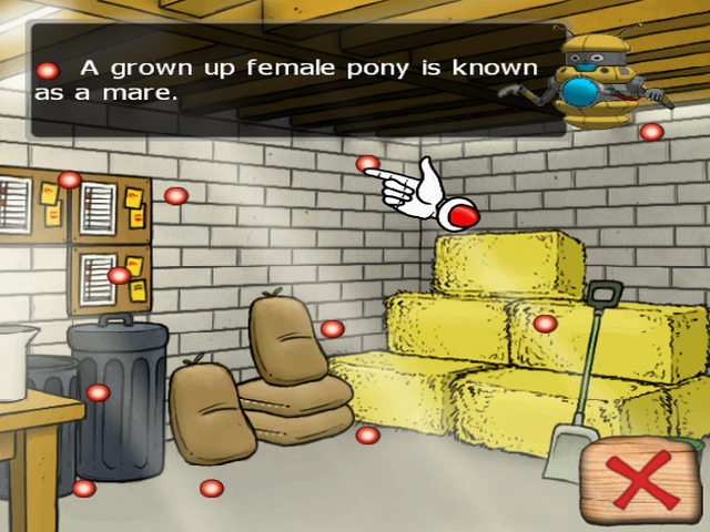 Pantallazo de Clever Kids: Pony World para PlayStation 2