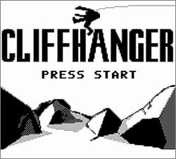 Pantallazo de Cliffhanger para Game Boy