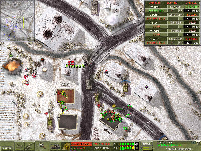 Pantallazo de Close Combat: Battle of the Bulge para PC