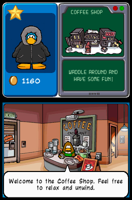 Pantallazo de Club Penguin: Elite Penguin Force para Nintendo DS
