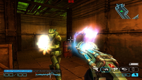 Pantallazo de Coded Arms: Contagion para PSP