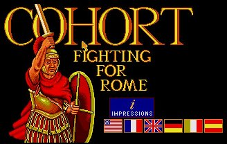Pantallazo de Cohort: Fighting For Rome para Amiga