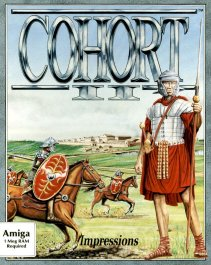 Caratula de Cohort II: Fighting For Rome para Amiga