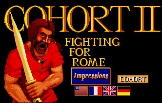 Pantallazo de Cohort II: Fighting For Rome para Amiga