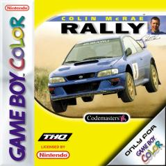 Caratula de Colin McRae Rally para Game Boy Color