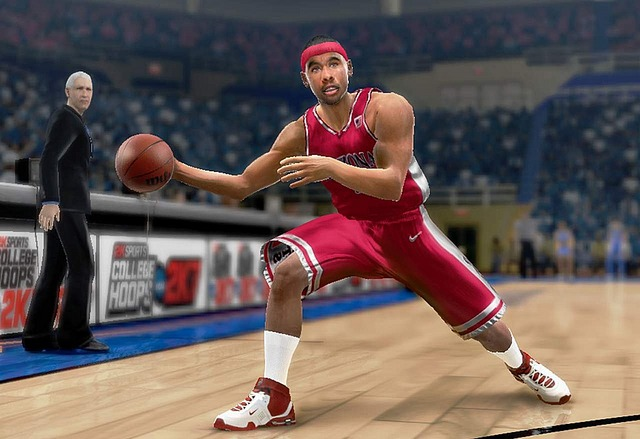 Pantallazo de College Hoops 2K7 para PlayStation 2