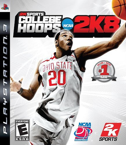 Caratula de College Hoops 2K8 para PlayStation 3