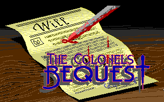 Pantallazo de Colonel's Bequest: A Laura Bow Mystery, The para PC
