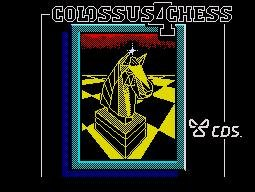 Pantallazo de Colossus 4 Chess para Spectrum