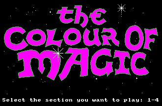 Pantallazo de Colour Of Magic, The para Amstrad CPC