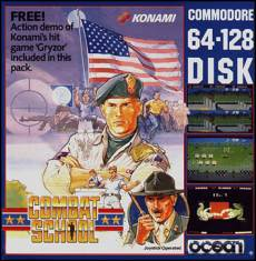 Caratula de Combat School para Commodore 64