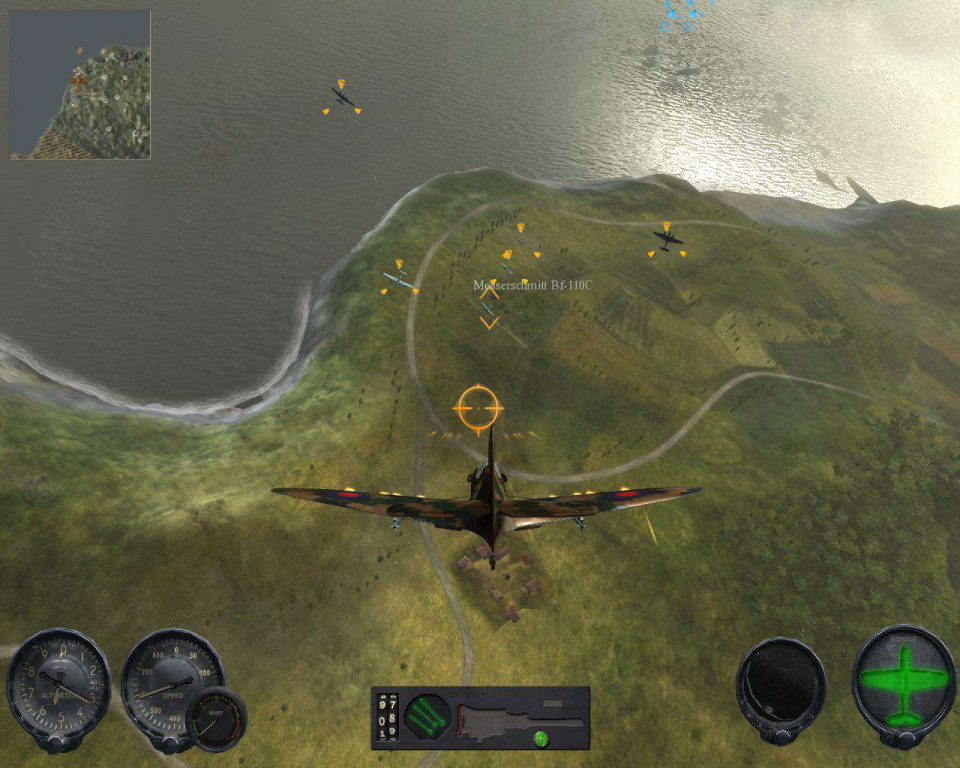 Pantallazo de Combat Wings: Battle of Britain para PC