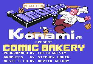 Pantallazo de Comic Bakery para Commodore 64
