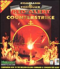 Caratula de Command & Conquer: Red Alert -- Counterstrike para PC