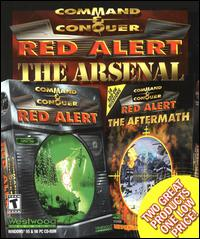 Caratula de Command & Conquer: Red Alert -- The Arsenal para PC
