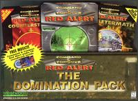 Caratula de Command & Conquer: Red Alert -- The Domination Pack para PC
