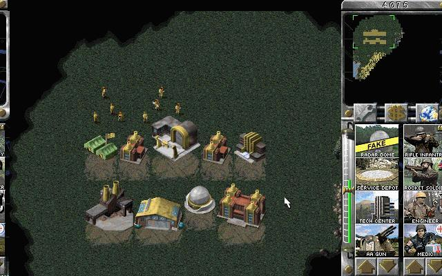 Pantallazo de Command & Conquer: Red Alert -- The Domination Pack para PC