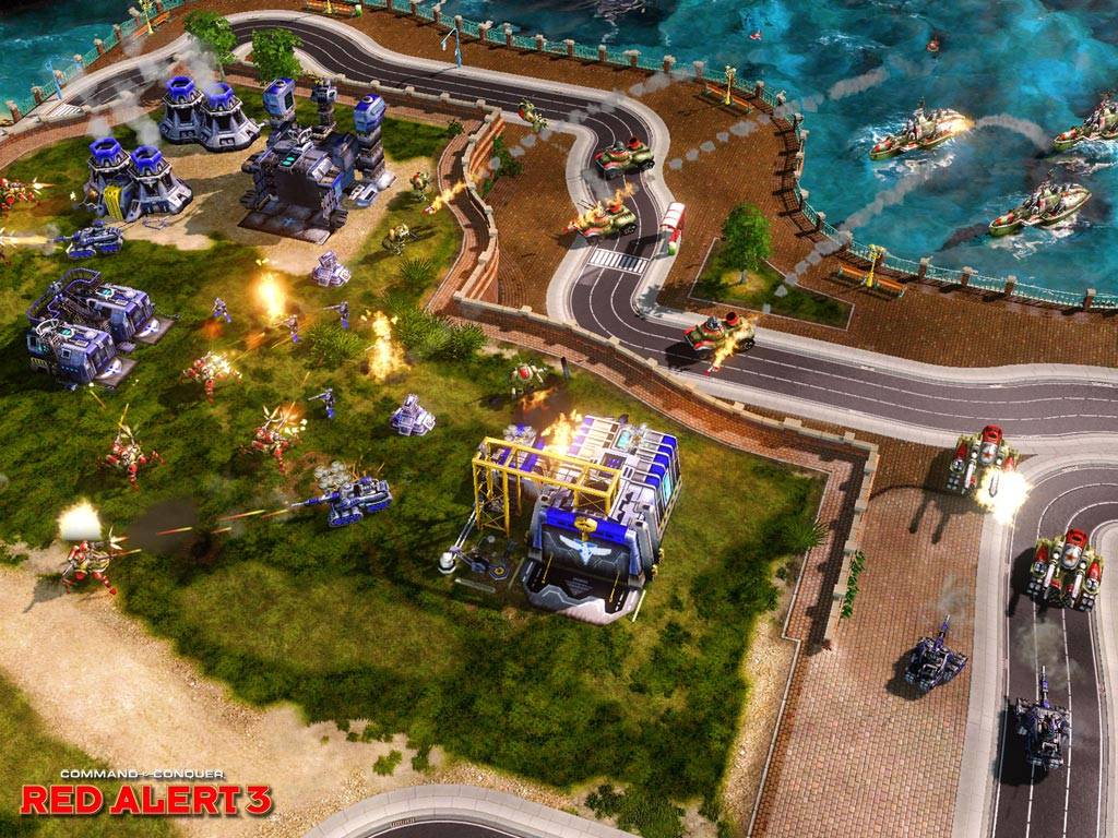 Pantallazo de Command & Conquer: Red Alert 3 para PC