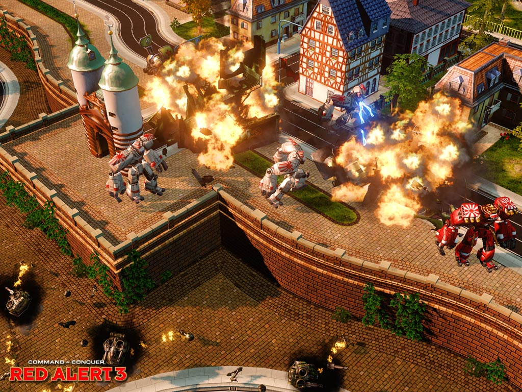 Pantallazo de Command and Conquer: Red Alert 3 - Ultimate Edition para PlayStation 3