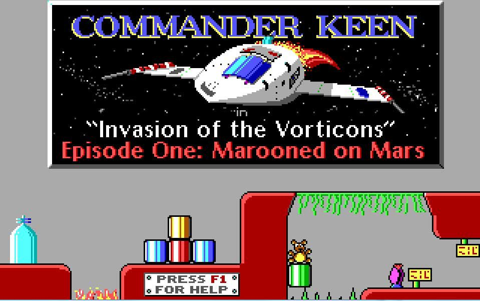 Pantallazo de Commander Keen 1: Marooned on Mars para PC