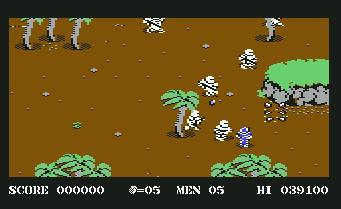 Pantallazo de Commando II para Commodore 64