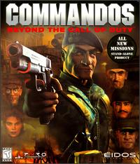 Caratula de Commandos: Beyond the Call of Duty para PC