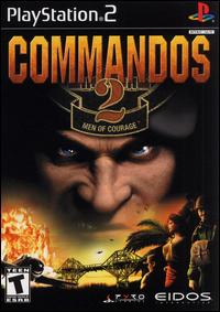 Caratula de Commandos 2: Men of Courage para PlayStation 2