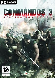 Caratula de Commandos 3: Destination Berlin para PC