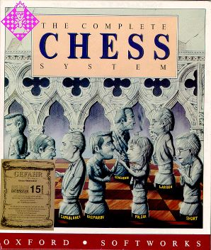 Caratula de Complete Chess System, the para PC