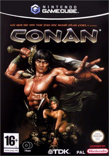 Caratula de Conan: The Dark Axe para GameCube