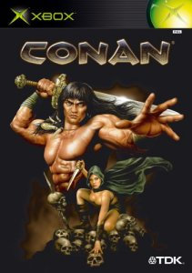 Caratula de Conan The Dark Axe para Xbox